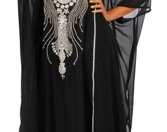 Maxi Dress/Caftan/Party dress/African clothing/Dubai kaftan/Elegent dress/Abaya/Plus size clothing/Plus size dress/Kaftan dress