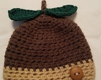 Acorn hat & cocoon