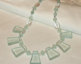 Beachy Bella - Hilton Head Sea Glass Necklace