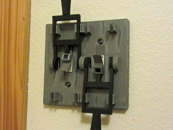 Like this item? & Frankenstein style dual light switch plate Turn your room to