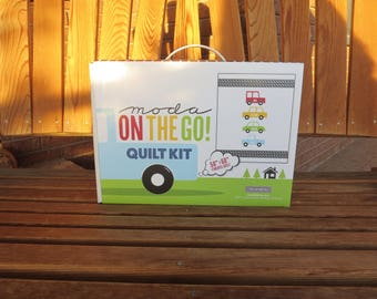 Moda - On The Go Quilt Kit