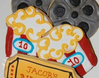 Movie Night Cookies   Item #1000