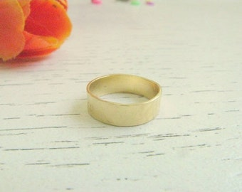 Mother Day Sale - Wide gold ring - Wide band ring - Big band ring - Gold ring - Statement ring - Promise ring