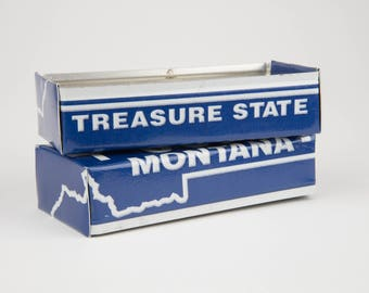 Montana license plate box - father's day gift ideas - gift for mom's dad's and grad's - teacher gift - graduation gift - graduation gift box