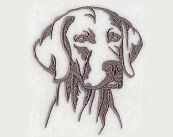 Weimaraner Tea Towel |  Personalized Kitchen | Embroidered Kitchen Towel | Dog Lover Gift | Embroidered Tea Towel | Embroidered Towel