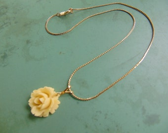 Trifari Rose Necklace