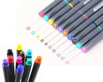 Gel Pen, Gel Ink Pen, Gel Pen Set, Sketch Pen, Colored Pen, Fine Liner Pen, Watercolor Pen, Planner Pen, Art Pen, Art Set, Planner Supplies