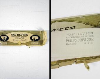 1920s Van Heusen Collar White NOS Van Jack Detachable Collar 14 3/4