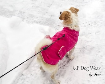 Small Thermal Dog Coats, Custom Made to Order, the CHEWY, BCD50011