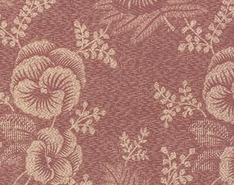 Plum Sweet - Pansy in Iris by Blackbird Design for Moda Fabrics