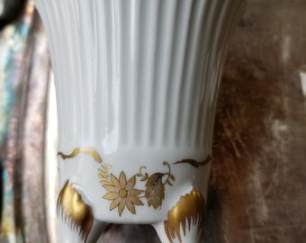 Limoges Hand Painted Cup