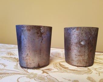 NEW Set of 2 Mercury Votive Candle Holder