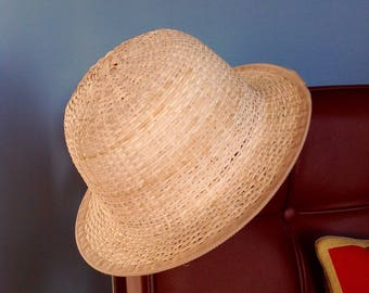Handmade hats, handcrafted in Myanmar / Burma from young sprouts of rattan from the Irrawady Delta.