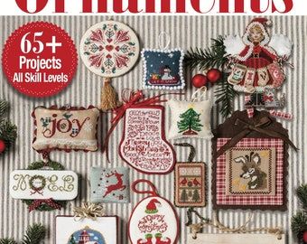 COMING iN SEPTEMBER! 2018 ISSuE - JuST CRoSS STiTCH Christmas Collector's Edition cross stitch patterns magazine fantasy