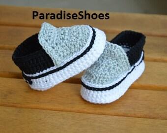 Vans shoes Crochet Baby Booties