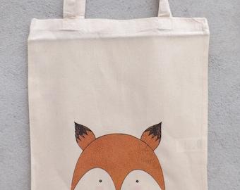 "Tote Bag ""My little fox"" - shopping bag"
