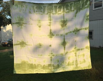 Apple Green Flour Sack Kitchen Towel