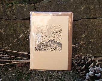 Ben Nevis Greetings Card