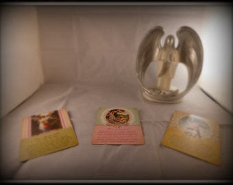 Angel Tarot Card Reading,  3 Card Spread,  What is coming up for me