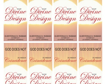 LDS Devine Design Bookmark