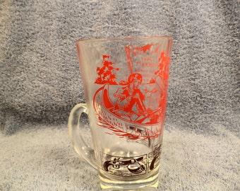 Davy Crockett Mug Drinking Glass