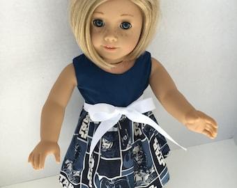 18 inch Doll Dress. Star Wars Doll Dress