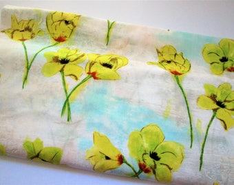 Yardage of Michael Miller's Blooming Tulips CJ4817