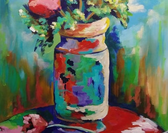 Japanese Vase / Edward Vuillard 1900-01 Inspiration