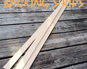 ON SALE --- Premium Grain Hickory Backing Strip - Perfect for Hickory Bows - Custom Wood Archery