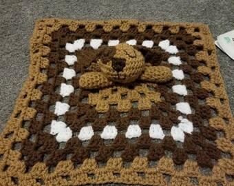Crochet dog lovie