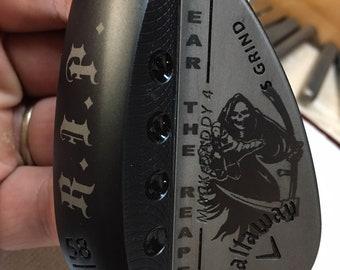 Callaway Mack Daddy 4 Custom Grim Reaper Golf Wedge-