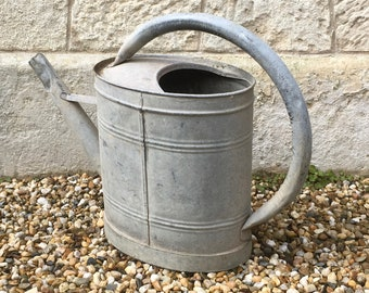 Watering can zinc french antique zinc watering can