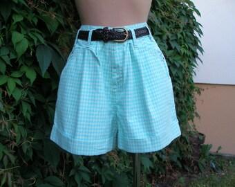 Womens Shorts / Cotton Shorts / Shorts Vintage / Size EUR38 / UK10