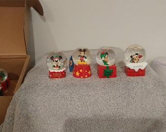 Disney Mini Snow globes