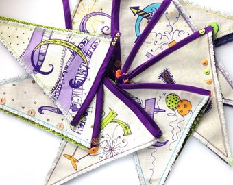 Bunting Congratulations Party pennants.
