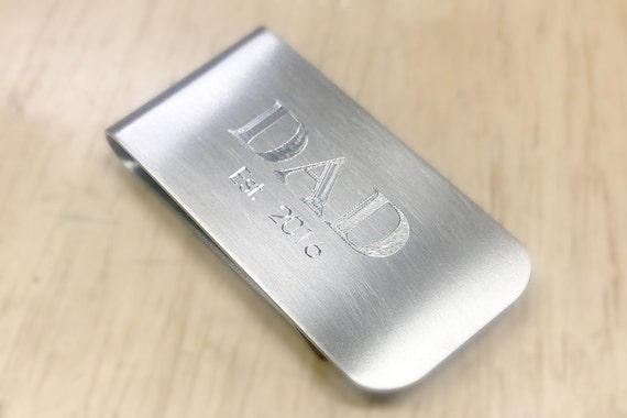 Lastly--the straight-up most useful gift that every dad needs--the money clip.