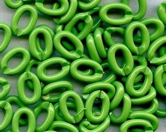 Smooth SPLIT Links SPRING GREEN