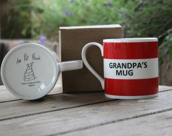 Grandpa's Mug Hoop Mug