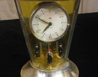 VintageDecorative Pendulum 8 Day Clock made in Germany