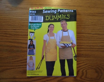 Sewing Pattern for Adult Size Apron