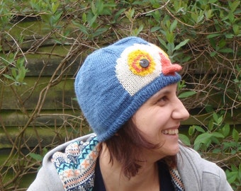Ready To Ship: Penguin Power - Adult Size Animal Beanie