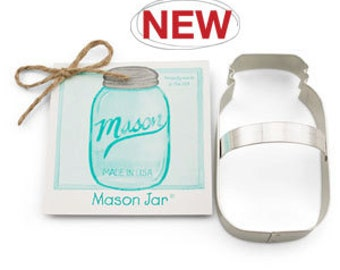 Mason Jar Cookie Cutter By Ann Clark