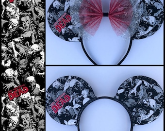 The Walking Dead Inspired Mouse Ears