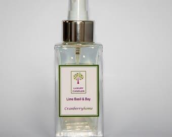 Lime Basil & Bay Luxury Room Spray