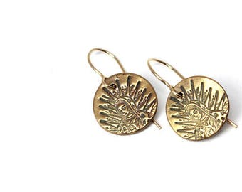 Our Lady of Guadalupe, Virgin Mary, Virgen de Guadalupe, Nuestra Senora Earrings
