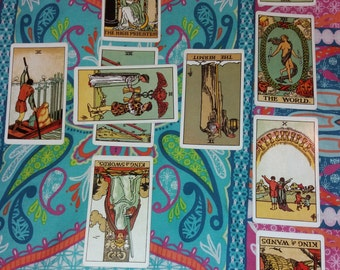 Intuitive Tarot Reading ~ Celtic Cross Spread ~ Traditional Rider Waite Tarot Cards