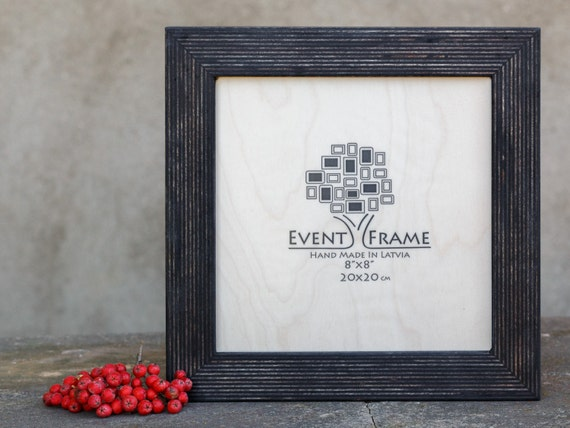 8x8 SQUARE Picture frame, INSTAGRAM Size, Unique Rustic Design ...