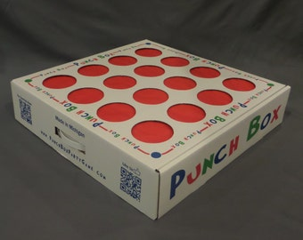 Punch Box Party Game - Better than a Pinata!!! Fun for Kids and Adults