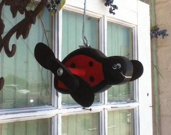 Lady Bug Whirligig