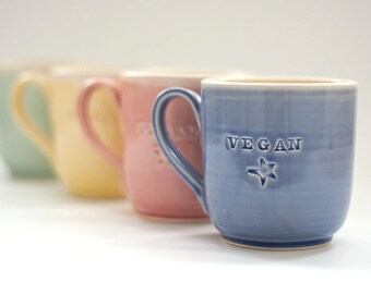 Vegan Dish - Mug - Classic - READY TO SHIP